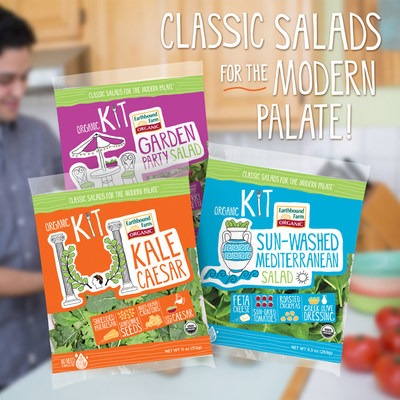 Earthbound Farm Launches New Culinary-Inspired Organic Salad Kits