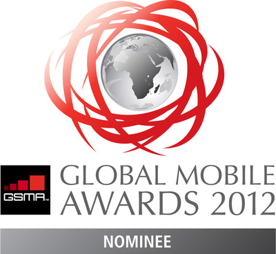 Global Mobile Award Logo.  (PRNewsFoto/Amobee)
