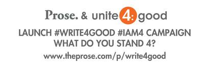 Prose & unite4:good #write4good