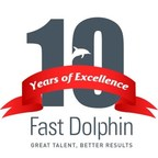 Fast Dolphin is celebrating 10 years of providing high-quality Oracle and SAP staffing services in the United States and Latin America. (PRNewsFoto/Fast Dolphin)