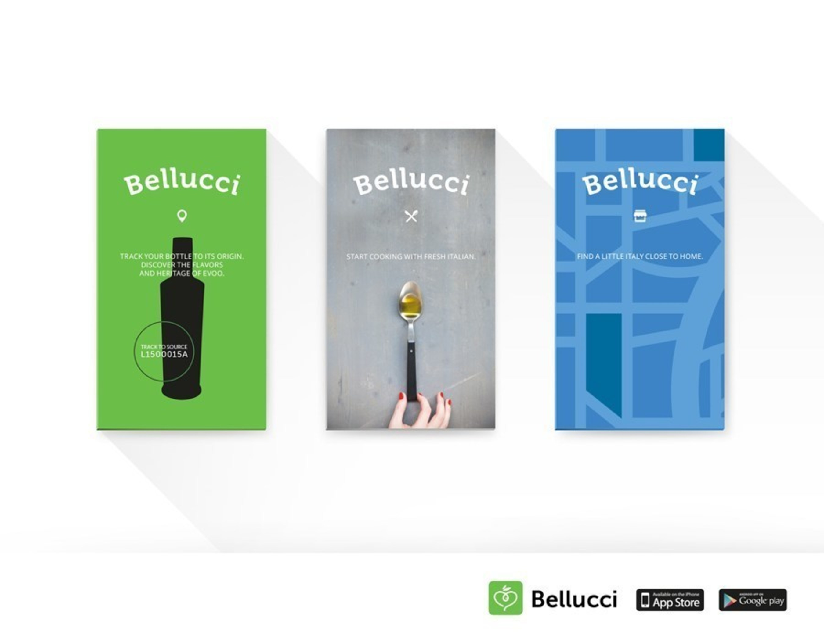 The Belucci App allows consumers to utilize innovative trace-to-source technology to identify where their bottle of Bellucci extra virgin olive oil (EVOO) comes from. The app also allows users to explore new ways of using EVOO with a recipe section. You will also be able to test your palate against the professionals in a EVOO taste test. Download the Bellucci App on Apple iOS or Android for free.