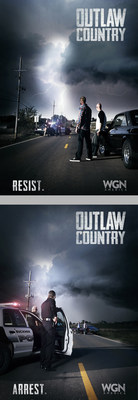 "WGN America's ""Outlaw Country"" premieres Tuesday, February 24 (10 p.m. ET / 9 p.m. CT)."