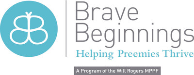 Brave Beginnings Logo. (PRNewsFoto/Will Rogers Motion Picture Pioneers Foundation)