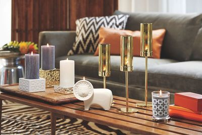 "Jonathan Adler´s ""Safari Chic Collection"" for PartyLite (PRNewsFoto/PartyLite)"