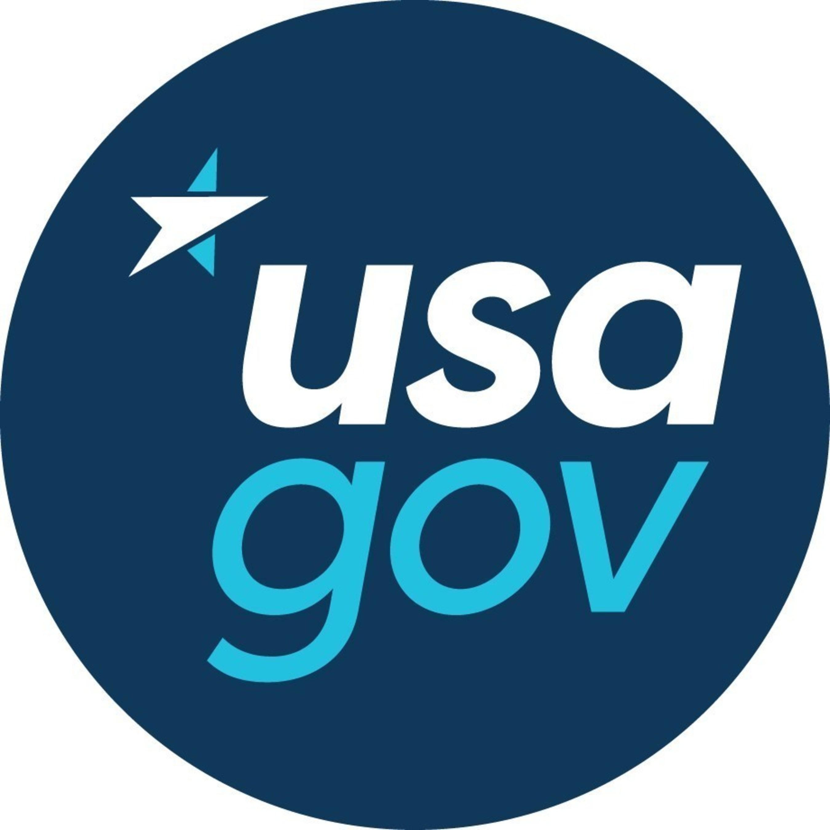 USA.gov Logo (PRNewsFoto/USA.gov)