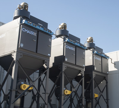 These CMAXX dust collectors receive the benefit of longer machine life and optimal performance efficiency with Imperial Systems new ServiceMAXX Program