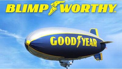 Goodyear Blimpworthy Logo.  (PRNewsFoto/Goodyear)