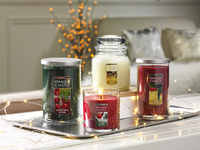 Yankee Candle's new holiday fragrances are available in a variety of forms to add a festive twist to any decor style.