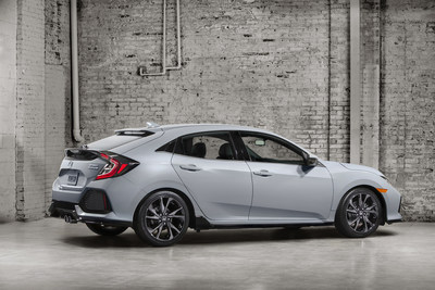 All-New 2017 Honda Civic Hatchback Arrives This Fall in North America