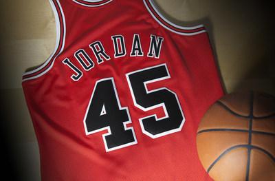 Mitchell & Ness Jordan jersey, back.