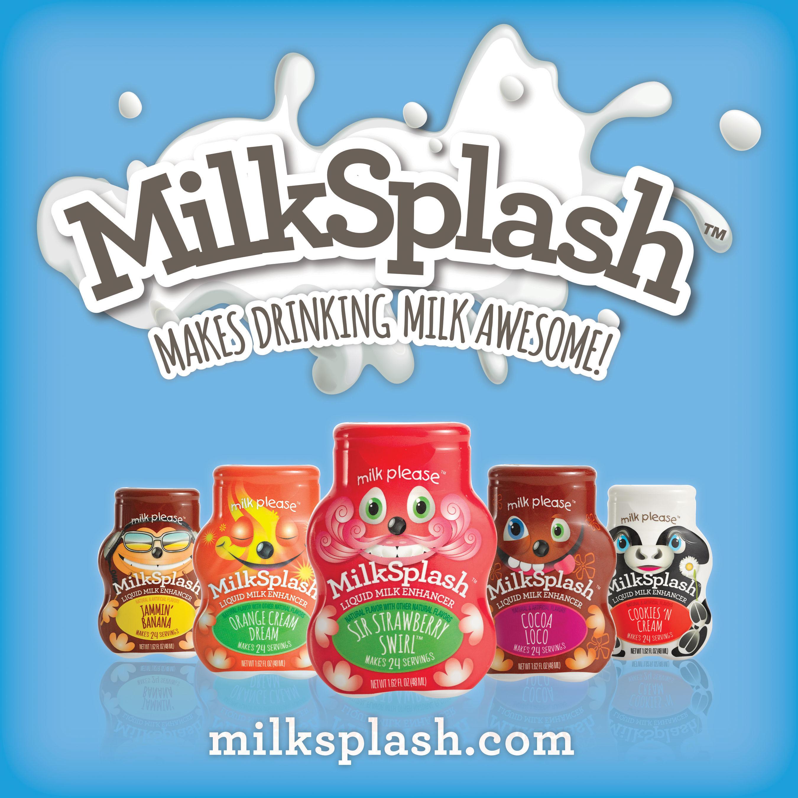 For more information about MilkSplash(TM), including where to buy, visit www.milksplash.com. (PRNewsFoto/S&D Beverage Innovations, LLC.) (PRNewsFoto/S&D BEVERAGE INNOVATIONS, LLC.)