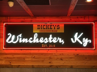 Dickey's Barbecue Pit in Winchester opens Thursday.