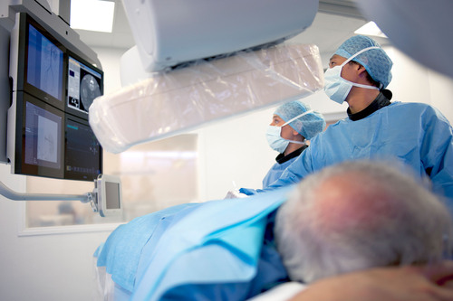 Philips AlluraClarity interventional X-ray system.  (PRNewsFoto/Royal Philips)