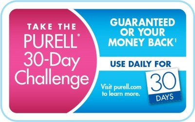 Are you up for this challenge? The PURELL Advanced 30-Day Challenge rewards consumers for a month of healthy habits. (PRNewsFoto/GOJO Industries)