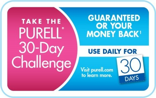 Are you up for this challenge? The PURELL Advanced 30-Day Challenge rewards consumers for a month of healthy ...