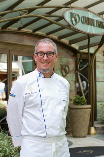 Chef Michael Schwartz at Oasis of the Seas' 150 Central Park.  (PRNewsFoto/Royal Caribbean International, Tim Aylen)