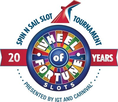 Carnival Cruise Line and IGT have partnered to celebrate the 20th anniversary of Wheel of Fortune slots.