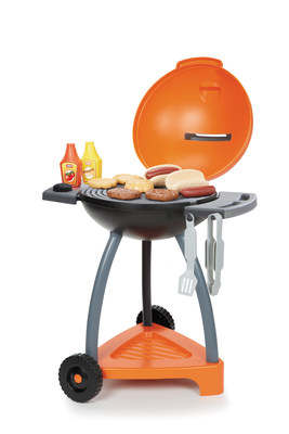 Now kids can grill just like Mom and Dad! The Little Tikes Sizzle & Serve Grill is only only $24.99 for the grill and 14 fun accessories!