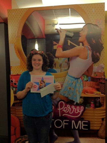"""""""Katy Perry: Part of Me"""" Pink Ticket Winner.  (PRNewsFoto/Paramount Pictures Corporation)"""