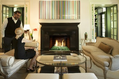 Real Fyre's collection of Fyre Glass adds color and elegance to any fireplace