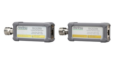 Anritsu universal USB power sensors have best-in-class measurement speed and over-power protection levels.