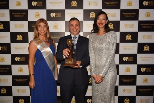 General Manager, Mr Karim Bizid at the World Travel Awards (PRNewsFoto/The Oberoi Hotel)