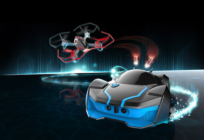 Elevate Your Game with R.E.V. AIR(TM), the latest in Robotic Enhanced Vehicles and Battle by WowWee coming 2016!