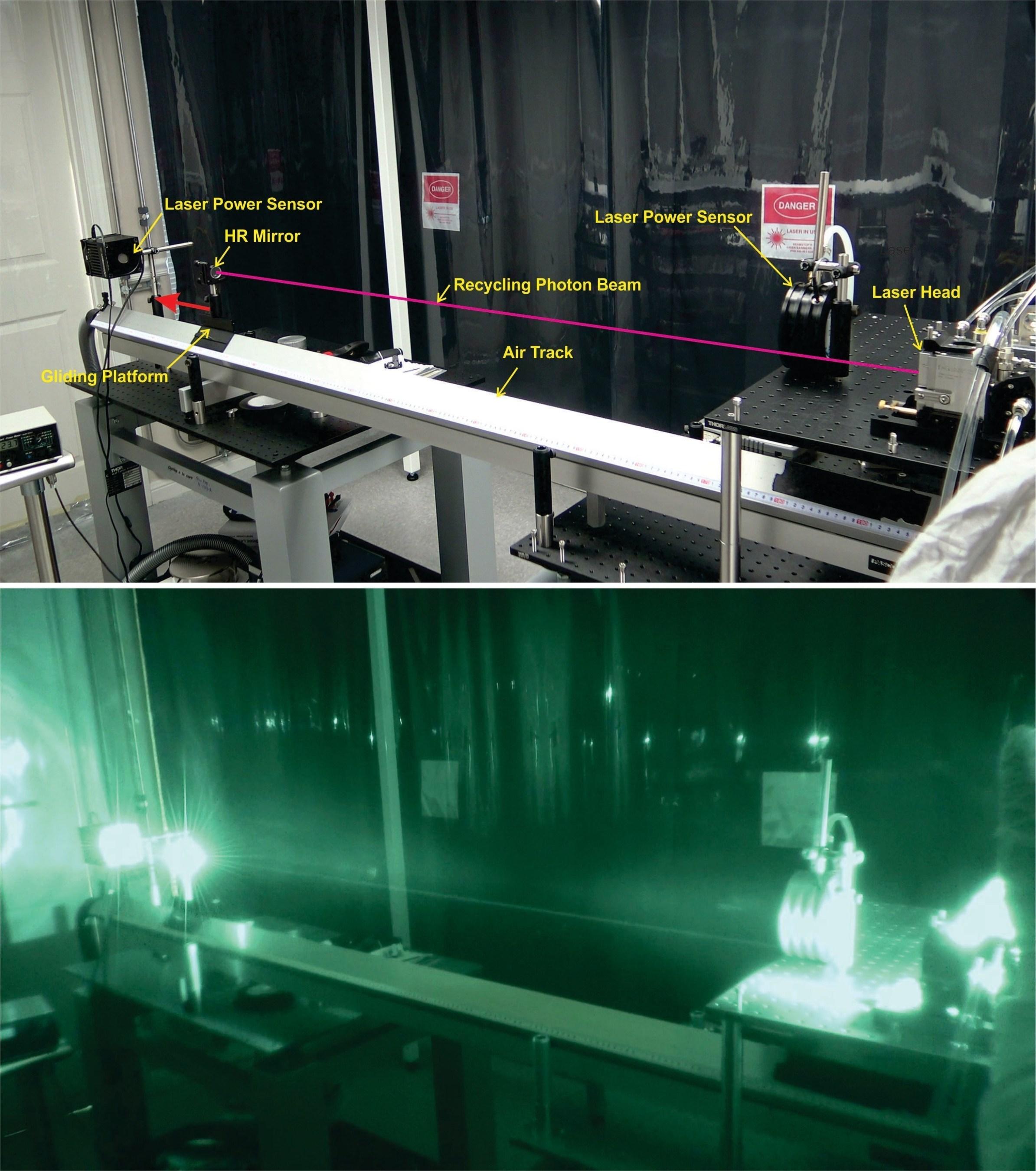 Successful laboratory demonstration validates propellant-free, high-impulse spacecraft propulsion.