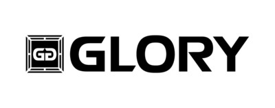 Logo for GLORY, the world's premier kickboxing league.