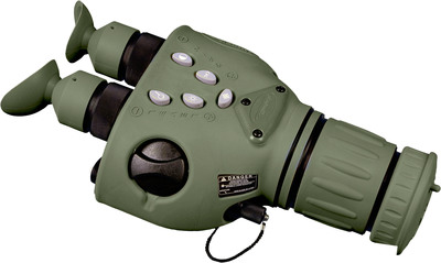 Raytheon PhantomIRxr(R): Finland is the latest international customer to purchase the precision-targeting bioculars. The lightweight devices use thermal imaging to pinpoint targets through darkness, smoke and dust. (PRNewsFoto/Raytheon Company, Finnish Defence Forces) (PRNewsFoto/RAYTHEON COMPANY)