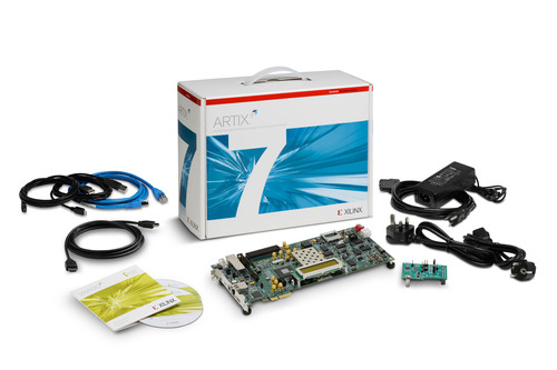 The Artix(TM)-7 FPGA AC701 Evaluation Kit is now available for designs requiring increased system performance, ...