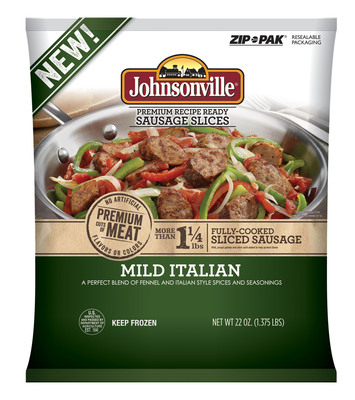 Johnsonville Sausage expands into a new food category with five varieties of frozen meatballs and sausage slices. (PRNewsFoto/Johnsonville Sausage, LLC) (PRNewsFoto/JOHNSONVILLE SAUSAGE, LLC)