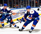 BasicBites(TM) displayed at Nassau Coliseum New York Islanders game.