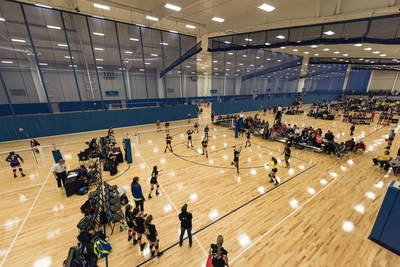 The Myrtle Beach Sports Center, managed by The Sports Facilities Management (SFM), is a noteworthy community asset that helps fight childhood obesity and diabetes through sports - like volleyball.