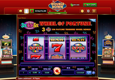 IGT's DoubleDown Casino launches the Wheel of Fortune Double Times Pay 3x4x5x game for desktop and mobile devices.
