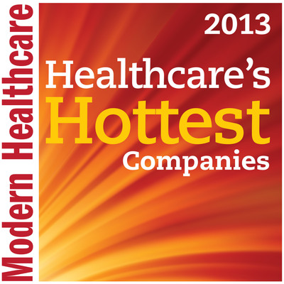 Recondo Technology Ranks #1 in Modern Healthcare 2013 List of the 40 Hottest Companies in US healthcare.  (PRNewsFoto/Recondo Technology)