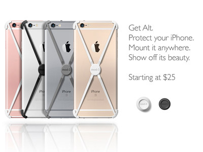 Kickstarter's Top Magnetic, Minimalist iPhone Case Lets You Mount Your iPhone Anywhere