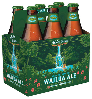 Wailua Ale - image.  (PRNewsFoto/Kona Brewing Company)