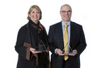 Recipients of Bloomberg BNA's 2015 Outstanding Estate, Gifts & Trusts Author Awards Christine Albright (left), Partner at Holland & Knight, and Richard Nenno, Administrative Vice President and Trust Counsel at Wilmington Trust Company.