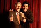 """Tony Bennett and Chayanne recorded a duet of Tony's classic hit, """"The Best Is Yet To Come"""" in Fort Lauderdale, FL  for Tony Bennett: VIVA DUETS set for October 23rd release (Photo credit: Ruben Martin) / Tony y Chayane grabaron a duo en  Ft Lauderdale, Fl , The Best is yet to Come"""", Clasico mundial de Bennett. Viva duets sale mundialmente al mercado el proximo 23 de octubre. Credito fotografico: Ruben Martin.  (PRNewsFoto/RPM/Columbia Records)"""