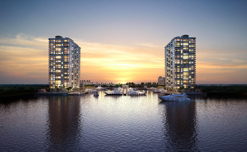 Marina Palms - Miami.  (PRNewsFoto/Douglas Elliman Real Estate)