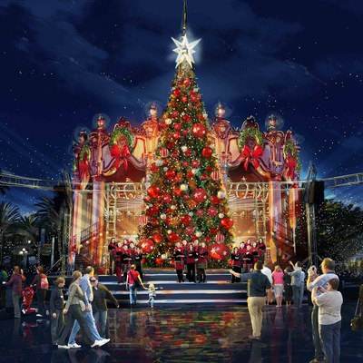 Cedar fair entertainment company winterfest debuts at for Top 10 christmas traditions in america