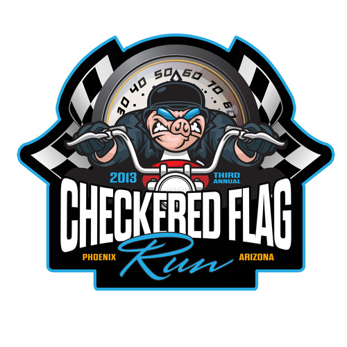 3rd Annual Checkered Flag Run.  (PRNewsFoto/Checkered Flag Run)
