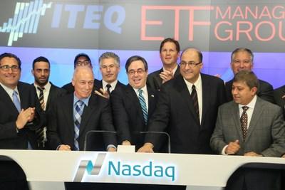 Ringing the Bell for Israeli High Tech (PRNewsFoto/Tel Aviv Stock Exchange) (PRNewsFoto/Tel Aviv Stock Exchange)