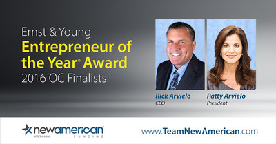 EY Announces Rick and Patty Arvielo Entrepreneur of the Year Finalists in Orange County.