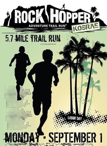 Rock Hopper Adventure Trail Run (PRNewsFoto/Kosrae Visitors Bureau)