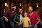 Grammy Award-winning band Lady Antebellum with St. Jude patient, Ian, for Chili's Create-A-Pepper campaign