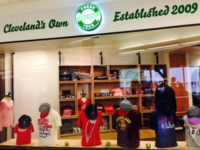 Fresh Brewed Tees at the AIRMALL at Cleveland Hopkins International Airport
