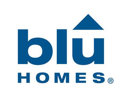 Blu Homes logo (PRNewsFoto/Blu Homes, Inc.)