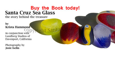 Santa Cruz Sea Glass, the story behind the treasures.  (PRNewsFoto/SantaCruzSeaGlass.com)